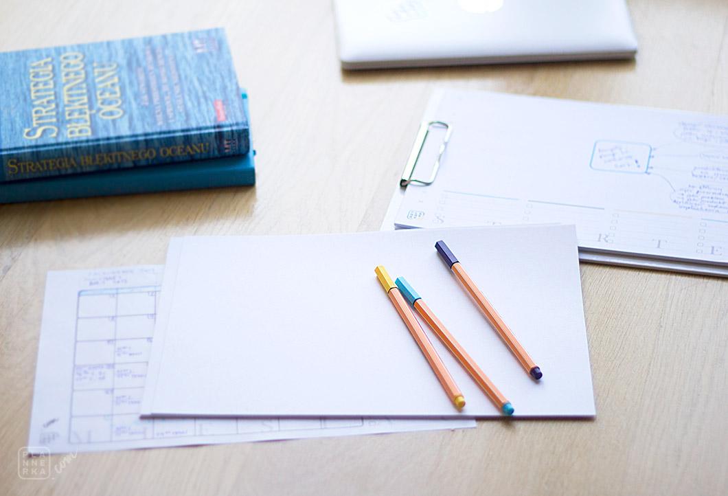 Plannerka - Jak planować miesiąc