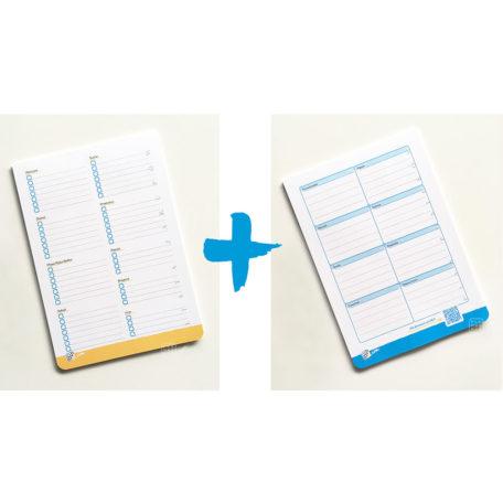 Plan Posiłków i Lista Zakupów - pakiet bloczków A5