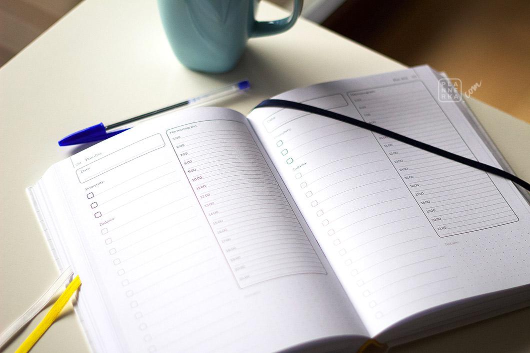Plannerka - Efektywne wykorzystywanie czasu
